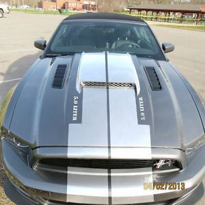2013 Mustang GT V8 V6 Mustang Mongoose RAM Air Performance Hood