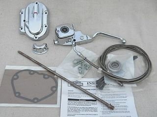 Harley Davidson Touring FLH Flt Softail Chrome Hydraulic Clutch Kit New