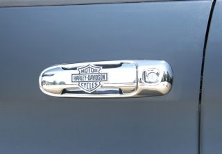 Dodge RAM Chrome Handles