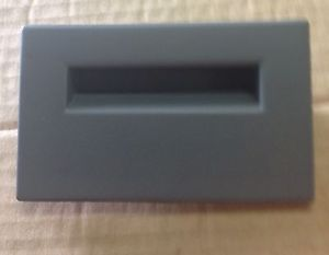 Dash Fuse Box Lid Cover Chevy GMC Truck 1988 1989 1990 1991 1992 1993 1994 Grey