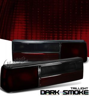 87 93 Ford Mustang LX GT Smoke Tail Lights Left Right Pair Rear Lamps New