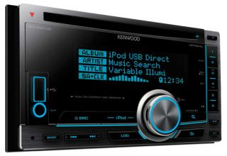 Kenwood DPX 504U CD  Car Stereo Double DIN USB Aux