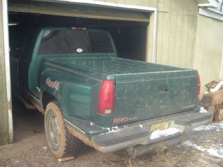 88 94 Chevy GMC Pickup Truck Chevy Flare Step Side Short Bed 6' Bumper Sierra