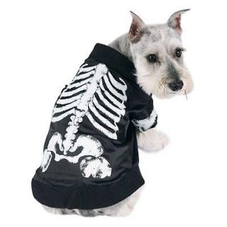 Skeledog Pet Skeleton Dog Halloween Costume