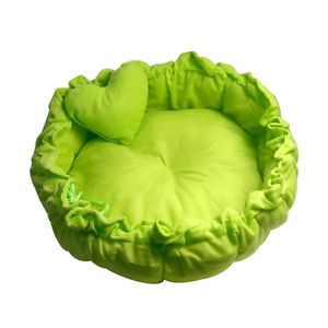 1pcs Green Pet Puppy Dog Cat Soft Pet Bed Sleeping Bag Warm Cushion Heart Pillow