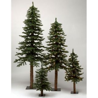 Vickerman Natural Alpine 5' Artificial Christmas Tree