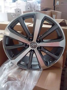 19 Toyota Highlander Venza Corolla 2008 2014 Alloy Wheels Rims Machine Gun