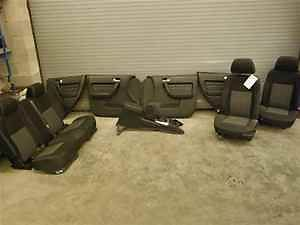 06 Hummer H3 Front Rear Seats Center Console Panels