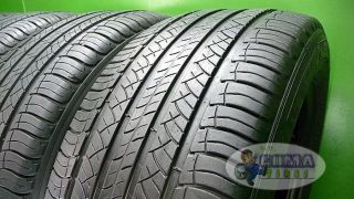 4 Michelin Latitude Tour HP ZP 255 55 18 Used Tires BMW x5 Perfect Off Lease