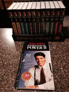 Anthony Robbins Personal Power II 30 Day Program 24 Cassettes 14 Are SEALED