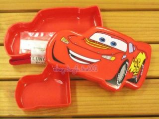 Disney Cars Lightning McQueen Die Cut Bento Lunch Box Food Container 310ml