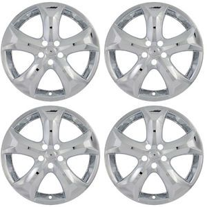 "4 PC Set Toyota Venza 20"" Chrome Wheel Skins Rim Covers Hub Caps Wheels"