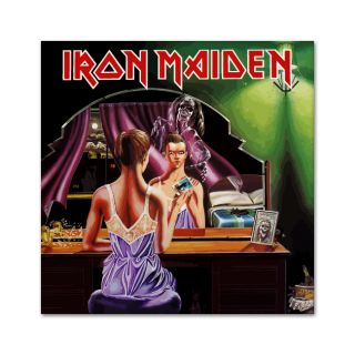 Iron Maiden Eddie Twilight Zone iPad Laptop Bumper Car Vinyl Sticker Decal 2x2