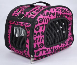 Travel Breathable Hound Camping Hiking Comfort Crate Carrier Puppy Pet Dog Cat