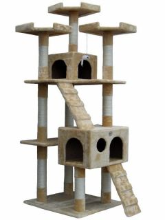 Cat Tree House Toy Bed Scratcher Post Furniture F2080