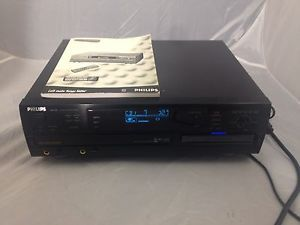 Philips CDR 785 CD Burner 3 Disc Changer Player Recorder Phillips CDR785 Manual