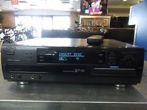 Philips CDR785 Stereo 3 Disc Compact Disc Player Changer and CD Recorder