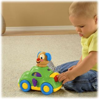 New Fisher Price Laugh Learn Puppy's Learning Car Baby Musical Learning Toy