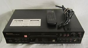 Pioneer PDR 509 Compact Disc Recorder Player w Remote Nice CD Burner