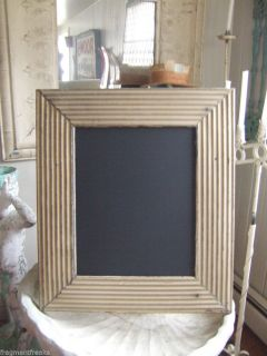Reclaimed Ceiling Tin Frame Chalk Board Blackboard See Our Videos Menu Brown
