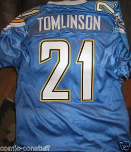 LaDainian Tomlinson San Diego Chargers Authentic Stitched Reebok XL Jersey New