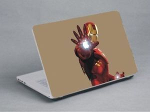 "17"" Iron Man Laptop Skin Cover Notebook MacBook Stickers Laptop Sticker"