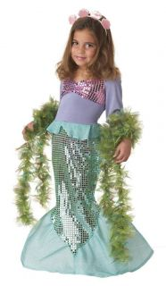 Toddler Girl Little Mermaid Princess Ariel Children's Halloween Costume New