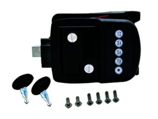 AP Products 013 509 RV Deadbolt Door Lock Black