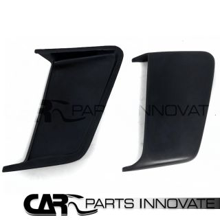 10 12 Ford Mustang Black 2pcs PU Side Door Vents Scoops