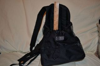 Outward Hound Pet Carrier Backpack Black for Small Dog or Cat Sack