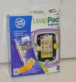 Leap Frog LeapPad Explorer Child Computer Games Learning Tablet 32400