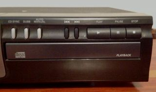 Philips CDR 765 17 Dual Tray CD Recorder Player