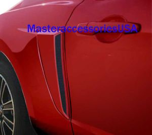 2010 2011 Ford Mustang Side Scoop Scoops Quarter Panel