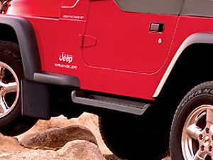 Jeep Wrangler TJ Side Steps Running Boards Molded Mopar