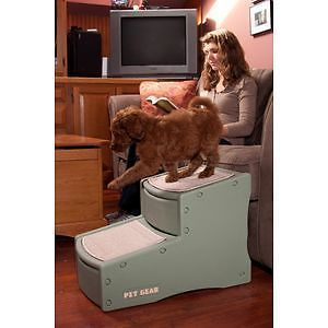 Pet Gear Easy Step II 2 Steps Dog Cat Pet Steps Ramp