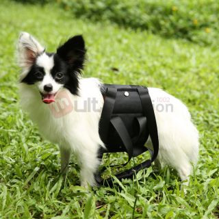 Black Pet Dog Cats Sling Carrier Bag Asisited Outdoor Travel Bag for 11 22lbs M