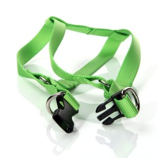 Green Easy Walk Dog Harness with Pull Leash Safety Reflection Rope Small Size S