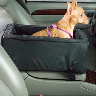 Snoozer Luxury Console Lookout Dog Carrier Car Seat Barrier Small Pink Pink