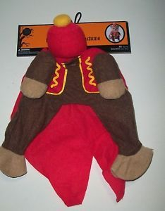 New Small Circus Monkey Halloween Dog Costume