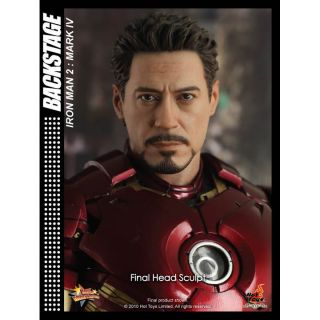 "Hot Toys Iron Man 2 Ironman Mark IV 12"" Figure in Stock"