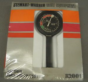 New Stewart Warner Test Equipment Vacuum Fuel Pump Tester Po 257