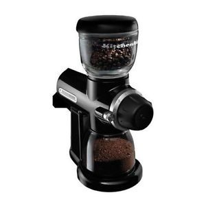 KitchenAid Pro Line Series Burr Coffee Mill Coffee Maker Onyx Black KPCG100OB