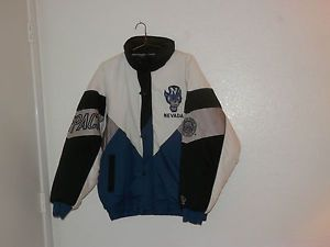 Nevada Wolf Pack Winter Coat University of Nevada Reno Cold Weather Jacket Large