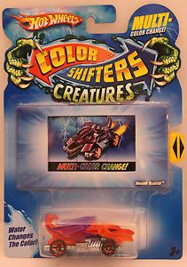 Hot Wheel Color Shifters Creatures Dragon Blaster Water Changes The Color
