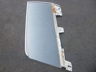 1967 1968 Mustang Coupe Hard Top Door Glass Window Carlite Clear LH Driver Side