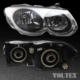 1999 2004 Chrysler 300M Headlight Lamp Clear Lens Halogen Passenger Right Side