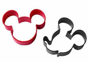 Wilton Disney Mickey Mouse Clubhouse Cookie Cutter Set Character Treats Dough