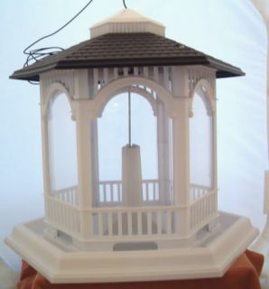 Bird Feeder Hanging or Pole Mount Gazebo Style Birdfeeder Holds 10 lbs of Seed