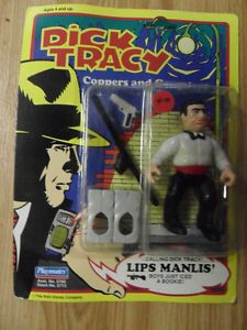 1990 Playmates Toys Dick Tracy Lips Manlis Figure