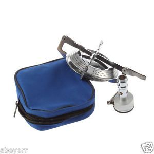 Outdoor Stainless Steel Gas Stove BBQ Burner Cookware Backpacking Picnic Camping